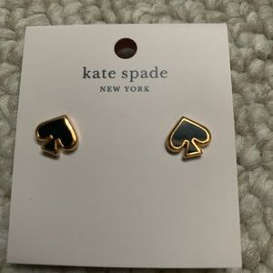 Kate Spade logo earrings